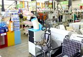 お買取の取扱い幅が広い!家電から、電動工具、ギフト用品まで、何でも一度に売れるので便利!