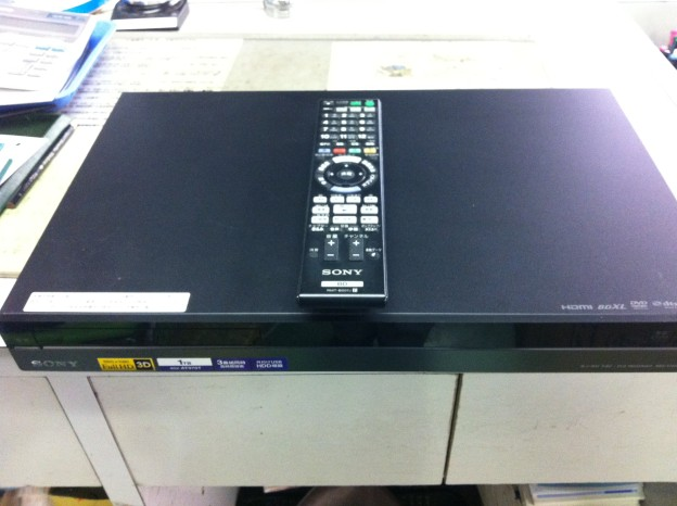 SONY(ソニー)BDZ-AT970T ブルーレイHDDレコーダー 買取 松阪市 伊勢市