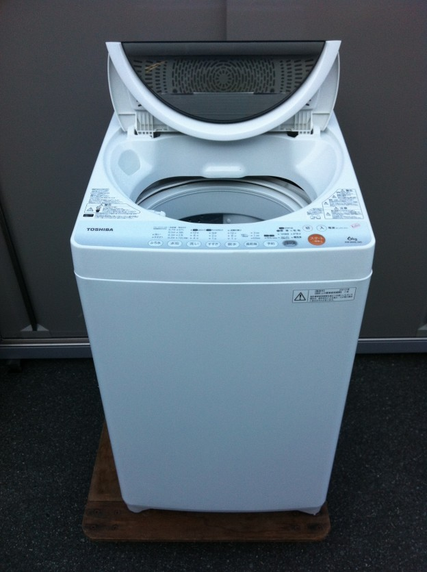 TOSHIBA東芝トウシバAW-60GL 全自動洗濯機 買取 松阪市 伊勢市