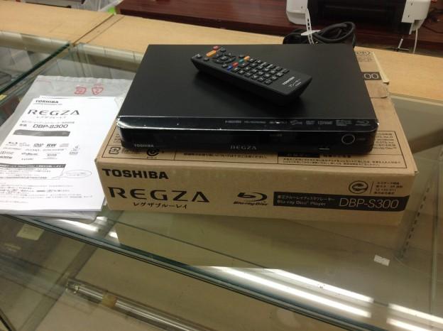 東芝TOSHIBA ブルーレイディスクプレイヤー DBP-S300 買取 三重県伊勢市 松阪市