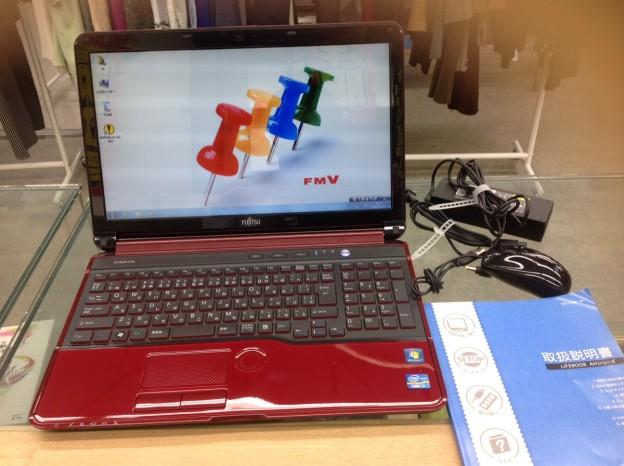富士通 ノートパソコン FMV LIFEBOOK 15.6型 FMVA56HR 買取 三重県伊勢市
