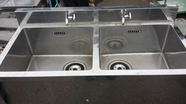 マルゼン 2槽式シンク 業務用 2槽式流し台 買取 松阪市 伊勢市