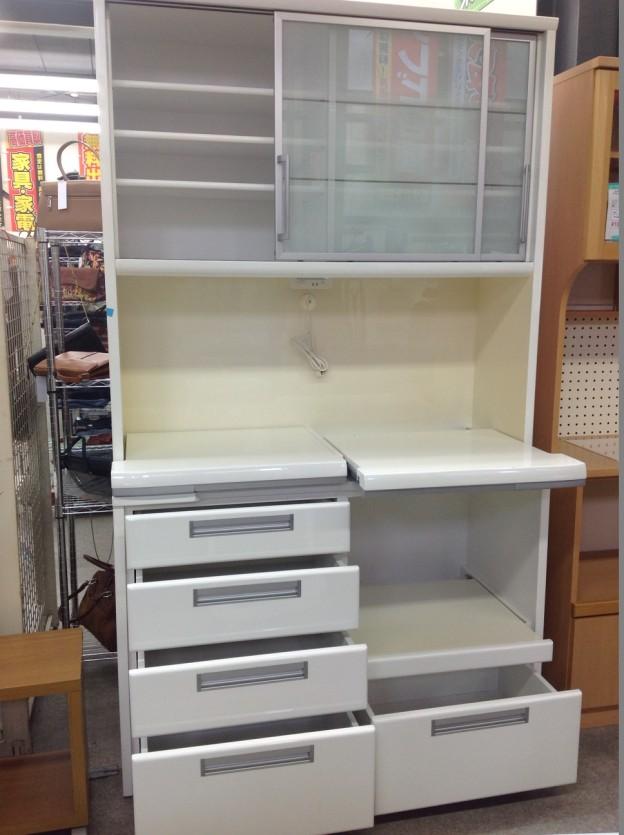 サンモア キッチンボード 白 出張買取  三重県伊勢市