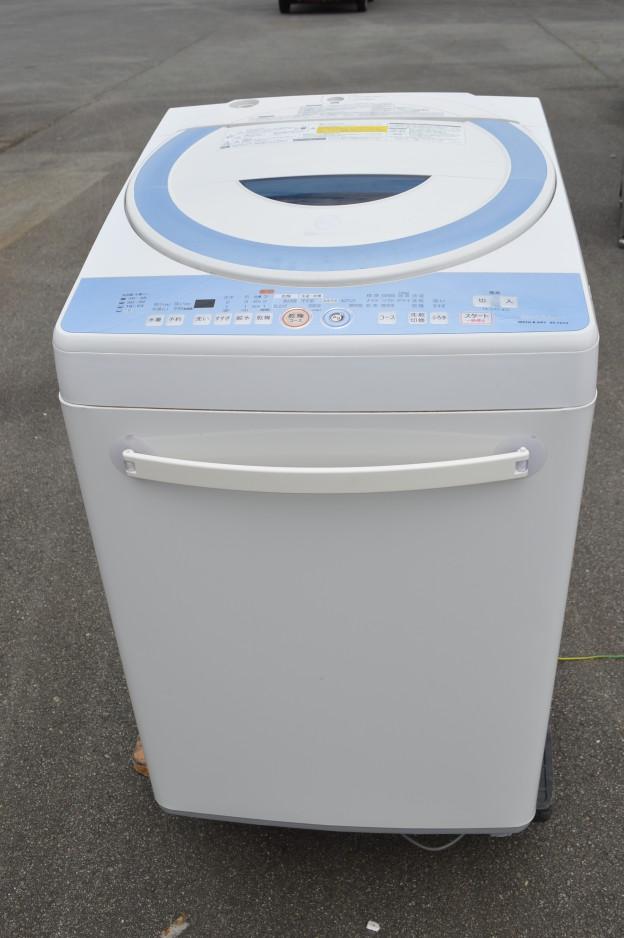 シャープ 洗濯乾燥機 縦型 7kg ES-TG72-A 買取 松阪市 伊勢市