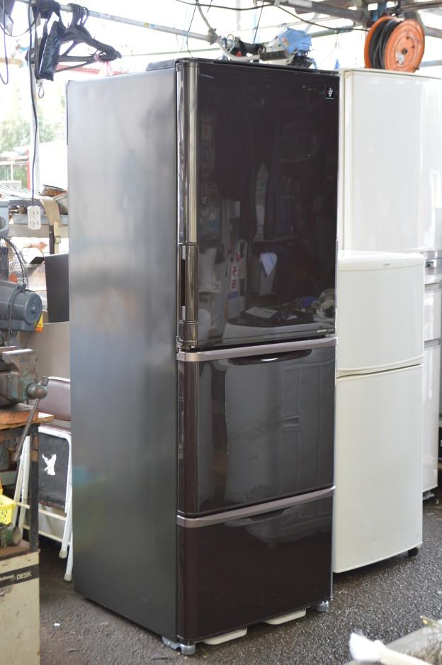 シャープSHARP ノンフロン冷凍冷蔵庫 SJ-PW35X-T 350L 買取 松阪 伊勢市