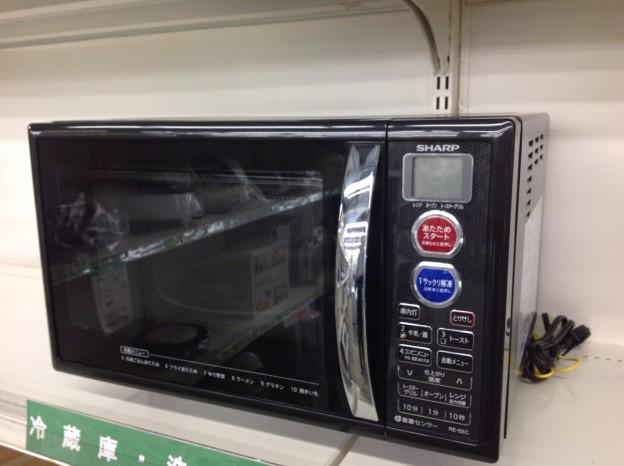 シャープ オーブンレンジ 電子レンジ 2014 RE-S5C 高価買取り 美品 三重県 伊勢市