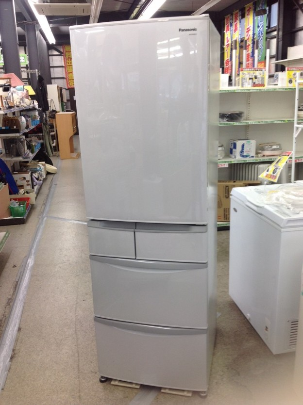 パナソニック 426L 5ドア ノンフロン冷蔵庫 NR-ETR435-H  買取 三重県伊勢市