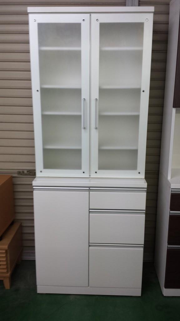 食器棚チェストモダン白色家具買取三重県松阪市伊勢市津市