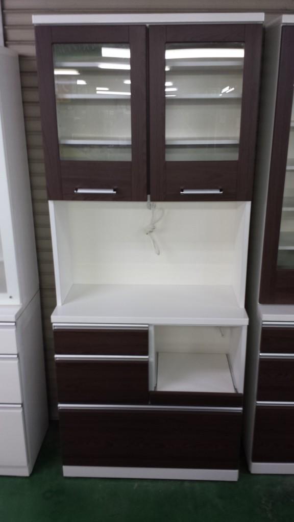 レンジボード食器棚家具ブラウン買取三重県松阪市伊勢市津市