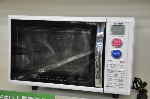 シャープ 電子レンジ RE-S5B-W 中古 買取 三重県伊勢市松阪市津市