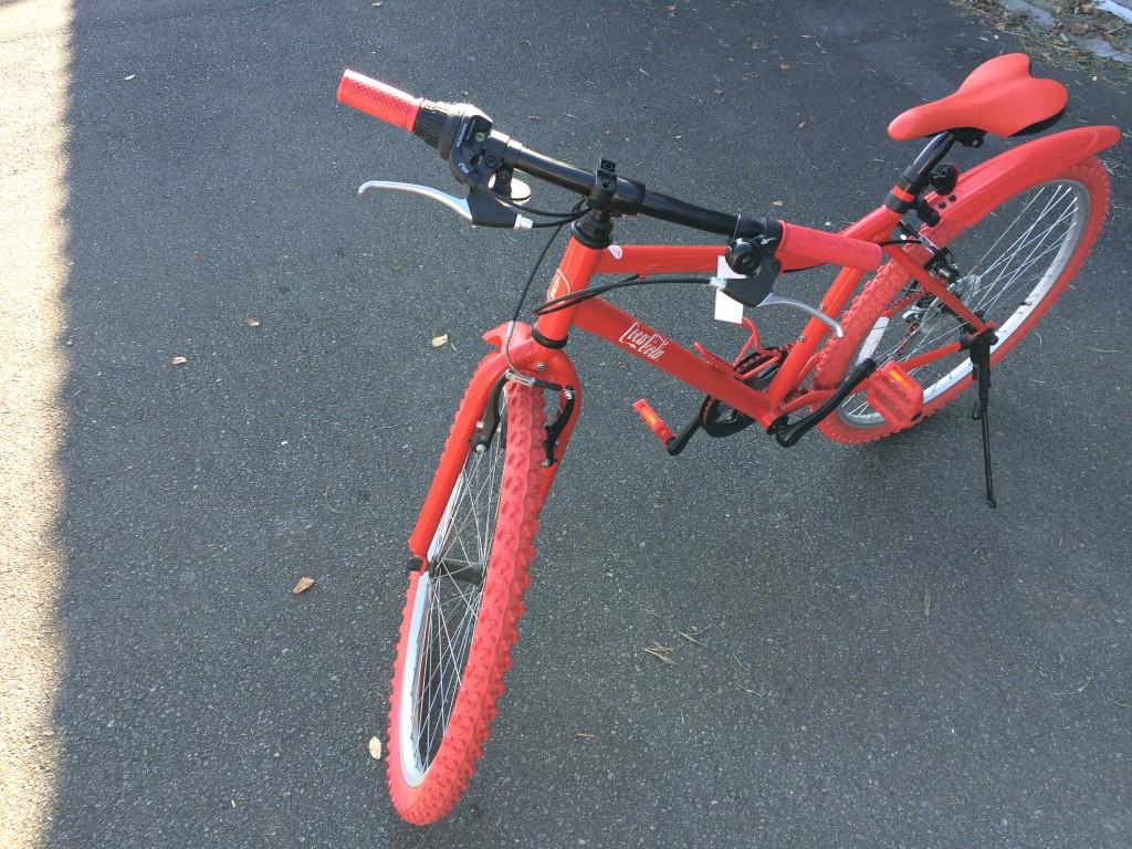 コカコーラ限定自転車