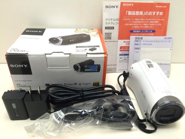 SONYハンディカムHDR-CX420三重県松阪市伊勢市津市