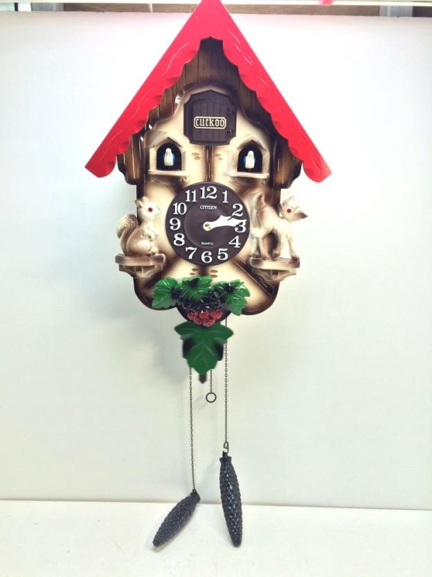 シチズン鳩時計AMJ221三重県松阪市伊勢市津市