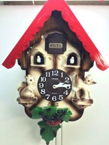 シチズン鳩時計AMJ221