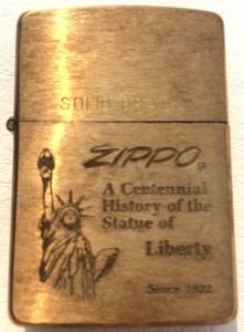 ソリッドブラス ジッポ 1932