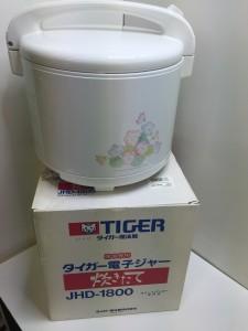 タイガー電子ジャーJHD-1800