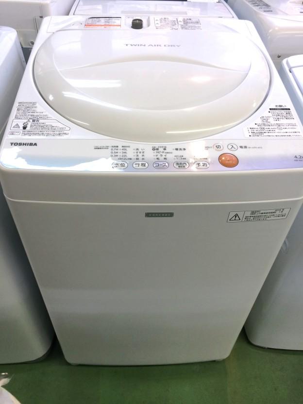 東芝洗濯機AW-4SC2三重県松阪市伊勢市津市