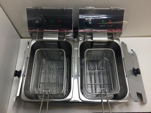 ダイシン 卓上電気ミニフライヤーFL-DS4W三重県伊勢市松阪市