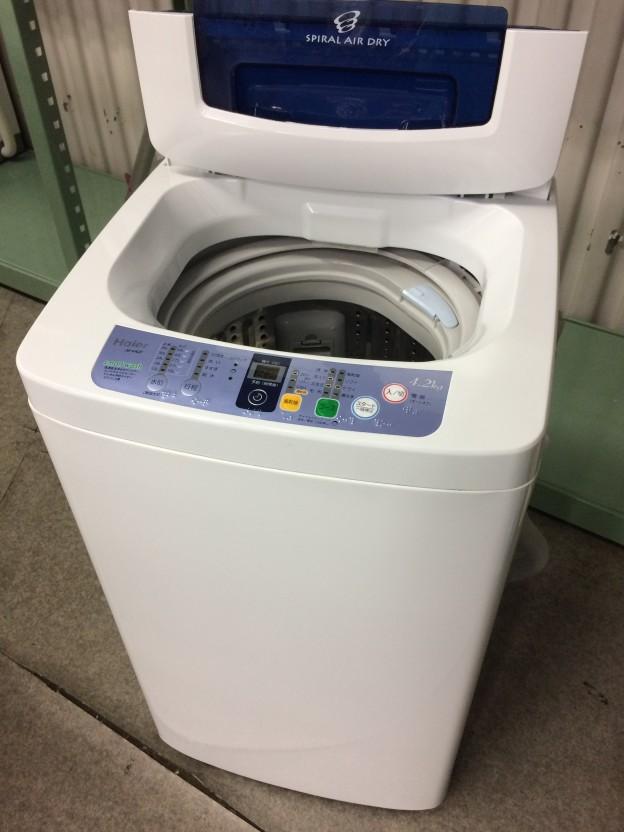Haier洗濯機JW-K42F三重県伊勢市松阪市津市
