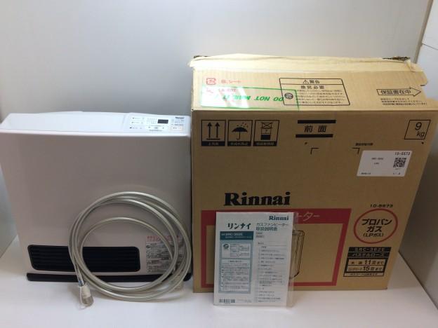 Rinnai プロパンガス用 ガスファンヒーター RC-K4001E-2 三重県伊勢市松阪市津市