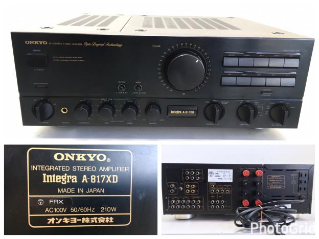 ONKYO A-817XD 三重県津市松阪市伊勢市