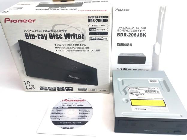 pioneer Blu-rayDisc writerBDR-206JBK三重県松阪市伊勢市津市