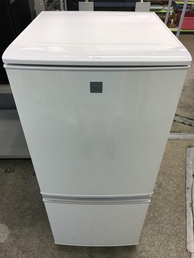 SHARP 冷蔵庫 SJ-14E4-KW 三重県伊勢市松阪市津市