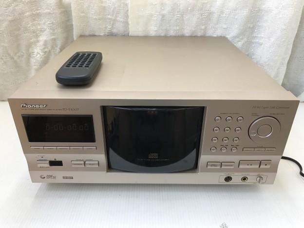 Pioneer 301枚ファイルタイプCDプレーヤー PD-F1007 三重県伊勢市松阪市津市