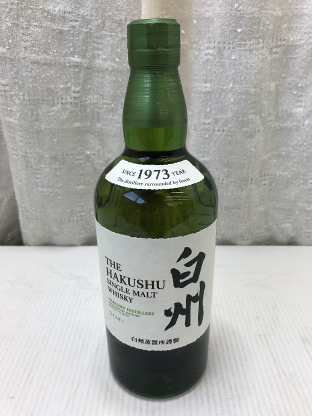 SUNTORY THE HAKUSHU since 1973 三重県伊勢市松阪市津市