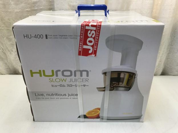 HUrom Slow Juicer HU-400 三重県伊勢市松阪市津市