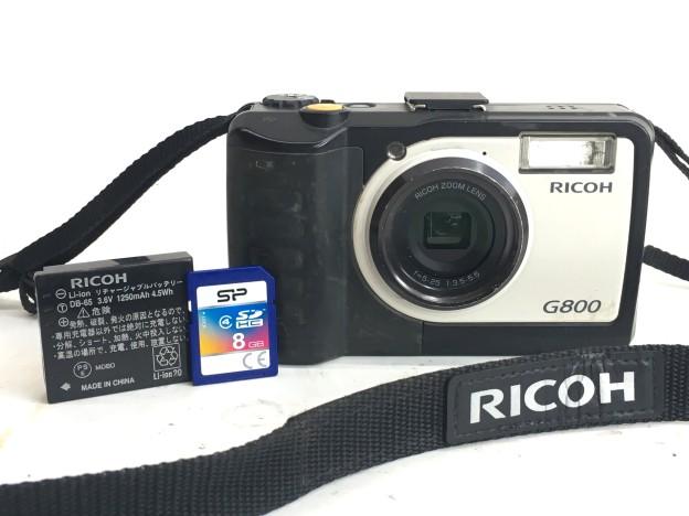 RICOH G-800 防水防塵デジタルカメラ三重県松阪市伊勢市津市