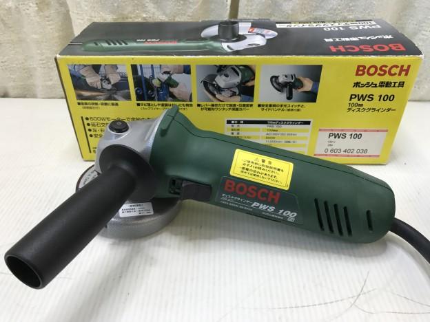 BOSCH ディスクグラインダー PWS100 三重県伊勢市松阪市津市