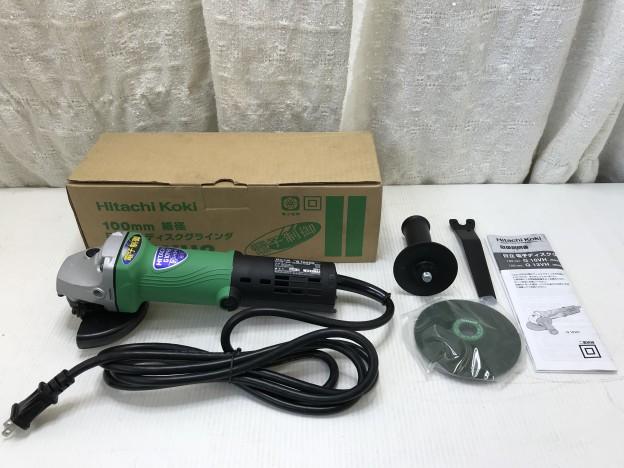 電動工具 HITACHI 電気ディスクグラインダー G10YH2 伊勢市松阪市