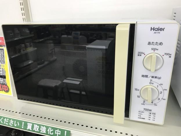 生活家電 Haier 電子レンジ JM-17E 伊勢市松阪市