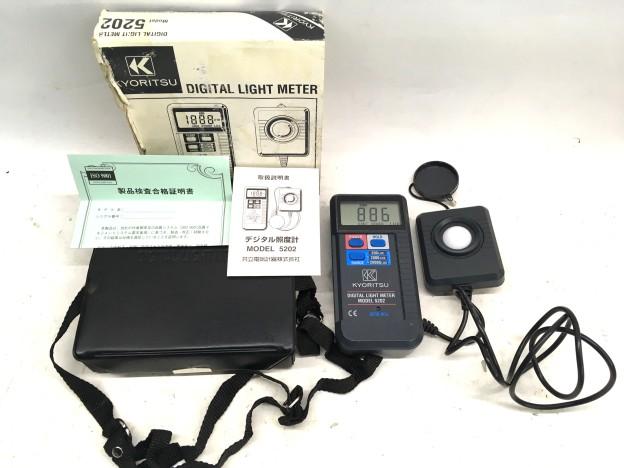 デジタル照度計 MODEL 5202三重県松阪市買取強化