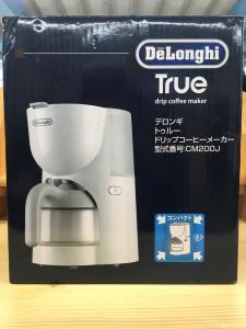 デロンギ トゥルードリップコーヒーメーカー CM200J-WH