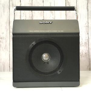 ソニー 拡声機能付テープレコーダー TCM-1390