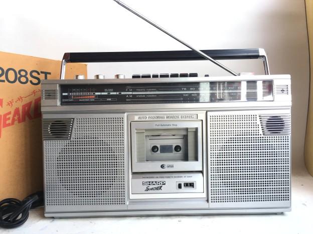 SHARP ラジオ GF-208ST SEARCHER 松阪市買取強化