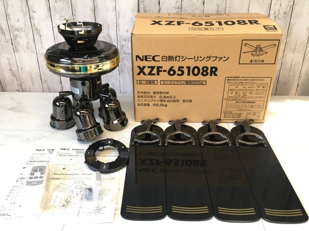 NEC シーリングファン XZF-65108R松阪市買取強化