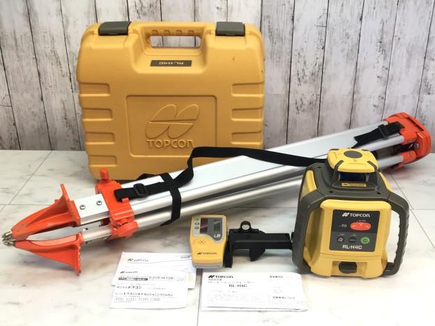 トプコンローテーティングレーザーRL-H4C松阪市買取強化