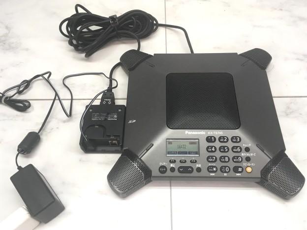 事務機器買取会議用スピーカーホン KX-TS745JP-K 津市出張買取