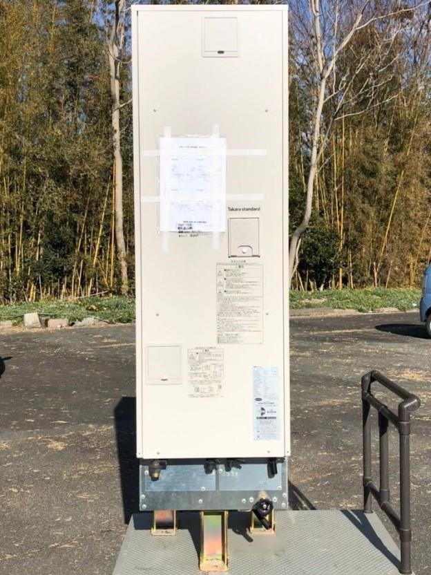 2017年 タカラスタンダード 電気温水器 EM-2034KU-SA 200L津松阪伊勢強化買取