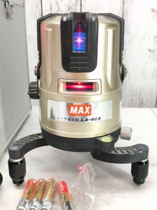 マックス レーザー墨出器 LA-403