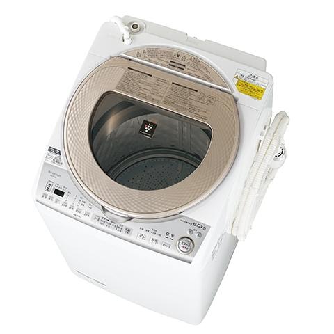 シャープ製洗濯機ES-TX8B-N津松阪伊勢強化買取