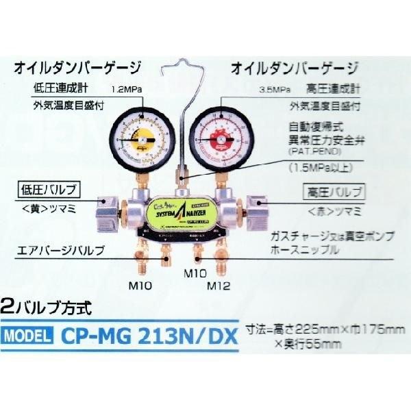 マニホールドゲージCP-NG213W津松阪伊勢強化買取